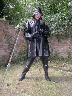 Raincoats For Women Long Sleeve Key: 1550299088 Best Rain Jacket, Black Rain Jacket, North Face Rain Jacket, Rain Jacket Women, Vinyl Raincoat, Blue Raincoat, Pvc Raincoat, Running In The Rain, Rubber Raincoats