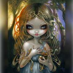 """Oaken Mead"" - Jasmine Becket-Griffith"