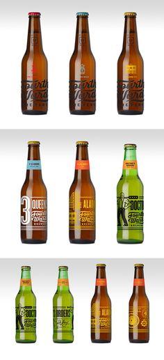 Fourth Ward Brewery bottle design