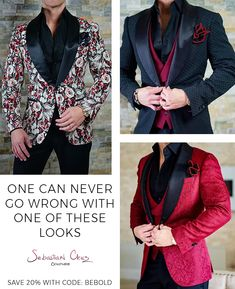 40% OFF Just For You! When You Add 5 Items To Your Cart! Home Of The Official Dinner Jacket!