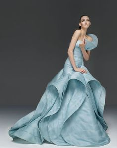 Versace Atelier gown - la couture at its finest