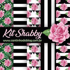 Free Digital Scrapbooking, Digital Scrapbook Paper, Scrapbooks, Black And Red Roses, Kit Digital, Valentine Words, Shabby Chic, Printable Paper, Pink