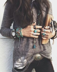 ╰☆╮Boho chic bohemian boho style hippy hippie chic bohème vibe gypsy fashion indie folk the 70s╰☆╮