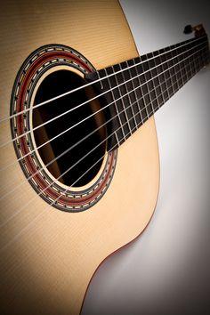Traditional Classical Guitar, Rosette Detail
