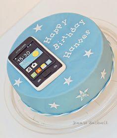 Torte mit Handy