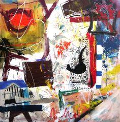 Gervásio Homenagem a Picasso  2014 Acrylic x Canvas 130 cm x 130 cm  #Art #Artist #Gervásio #Artworks #saomamede #Gallery #Color #Paintings #SãoMamedeArtGallery