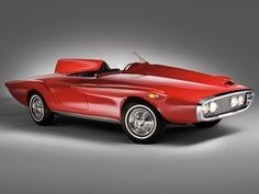 1960 Plymouth XNR Concept Car -  Designed by Chrysler styling legend Virgil Exner and built at Carrozzeria Ghia in Italy