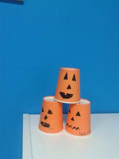 Jack O' Lantern cups