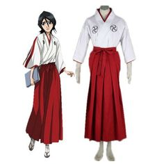Bleach Quincy Uniform | Bleach Soul Society Soul Reaper academy Girl's Kimono School Uniform ...