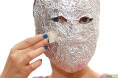 Image titled Make a Mask out of Tin Foil and Tape Step 7