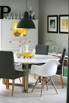 Esszimmer + Stühle + Eames