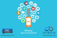 If you are looking for an #iPhone app development company that can develop a robust & scalable #iOS application at affordable price, then contact us NOW and Get a Free Quote http://www.devbatch.com/services/iphone-application-development-company/