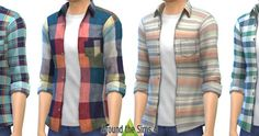 My Sims 4 Blog: H&M Shirts and Pants for Males by Sandy