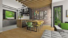 livingroom, dining room, kitchen