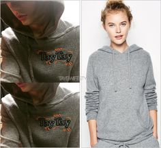 I'll just be wearing this forever (x) | October 4, 2015  Jack Wills 'CUSTOM Baldwin Cashmere Hoodie'