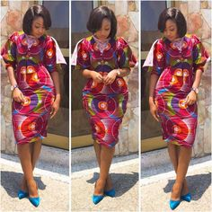 Every African women like to be seen in the latest Ankara styles, we've got all the trending Ankara designs. Its almost the end of the year and what comes with… African Men Fashion, African Fashion Dresses, African Women, African Dress, Fashion Outfits, Ankara Fashion, African Style, Woman Fashion, Ankara Short Gown Styles