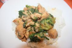 Chicken Broccoli Ca - Unieng's Stir fry - Cooking with CrystalCooking with Crystal