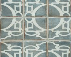 This site has really beautiful tiles. Especially this brand - Tabarka. Loving this cool neutral pattern.