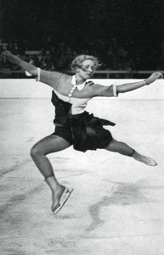 Vera Hrubá, Czech figure skater, Winter Olympic Games, Garmisch-Partenkirchen, 1936. Vera Hruba finished 17th in the women's individual competition. During the games she met and insulted Hitler, who asked her if she would like to skate for the swastika, to which she replied that she would rather skate ON the swastika. Escaping Prague before the arrival of the Nazi invaders in 1939 she emigrated to the US, carving out a new career as a Hollywood film actress with the screen name Vera Ralston.