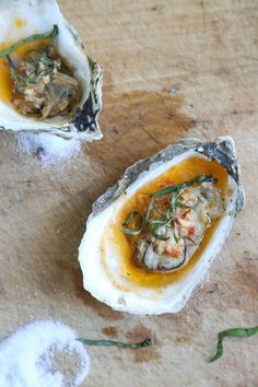 These grilled oyster