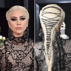 Lady Gaga 2018 Grammys Red Carpet