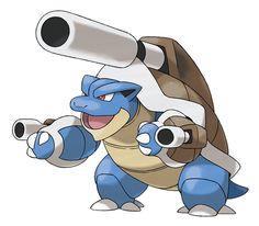 Mega Blastoise - Mega Evolution - Pokémon X & Y - Marriland