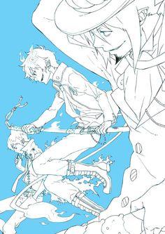 Ao no Exorcist (Blue Exorcist) Mobile Wallpaper - Zerochan Anime Image Board Blue Exorcist Mephisto, Blue Exorcist Anime, Ao No Exorcist, Rin Okumura, Vocaloid, Anime Lock Screen, Otaku Mode, Demon King, Anime Ships