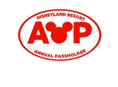 Disneyland Annual Pass Decal by BerryCuteCrafts on Etsy