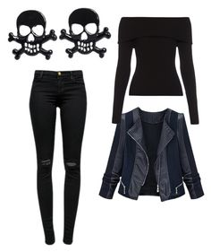 Untitled #6 by agaogludilara on Polyvore featuring polyvore fashion style A.L.C. J Brand women's clothing women's fashion women female woman misses juniors