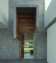 The Casa Vistahermosa project was designed and built by SMA, it's located in Residencial La Punta House Interiors, Entrance, Stairs, Windows, Doors, Architecture, Building, Places, Projects