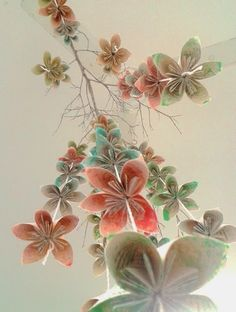 origami flores - Pesquisa Google