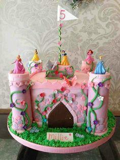 Details about Disney Castle Cake Decorating Kit includes Ariel