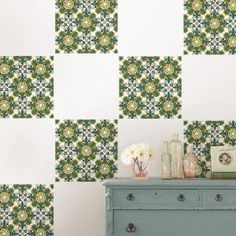 Inspired by Scandinavian folk art, this pattern comes in a totally modern color scheme we adore!