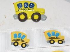 ribbon for bus driver gift and other great ribbon for other projects