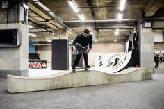 Old Selfridges Hotel Transformed Into Britain's Largest Free Indoor Skatepark :: FOOYOH ENTERTAINMENT