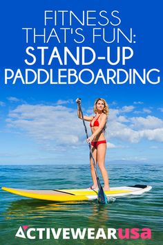 For a cool summer workout in the Great Outdoors, try the hot new sport of Stand-Up Paddleboarding.