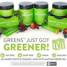 It's time for the #BOOM ‼️ New and improved 💚💪🏼💚👊🏼💚 💥Allergen Free 💥2.5x as many fruits 💥Added Spirulina & Parsley 💥4x the fiber 💥55% more fruits and veggies Message me today to get started on a 90 day challenge! #soyfree #vegan #dairyfree #nongmo (863)532-8348 ashleypearce.myitworks.com