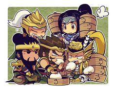 hearts of iron Warriors Game, Dynasty Warriors, Heart Of Iron, Guan Yu, Basara, Art Story, Samurai Warrior, Art World, Chibi