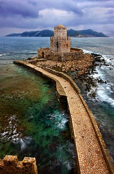 This is my Greece | The ancient fortress of Methoni lies in the northest part of the west coast of the Peloponnese