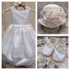 Beatriz...Baptism+Dress+/+Flower+Girl+/+by+ElenaCollectionUSA
