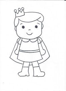 Dibujo príncipe