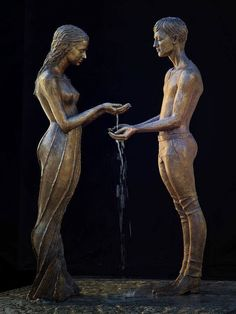 Poetic Fountain Sculptures Designed for Water to Creatively Cascade - My Modern Met