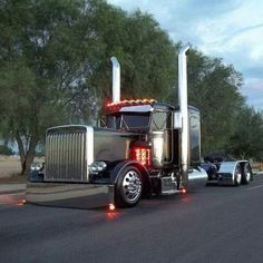 #Peterbilt. Everything you will need to dress up your Pete: http://www.raneystruckparts.com/Peterbilt/