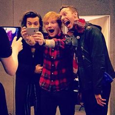 Ed, Chris and Harry