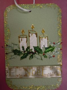 Christmas Tags!by the Memory Box Design Team