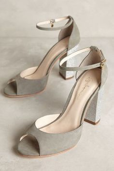 Guilhermina Starlet Heels Grey 38 Euro Heels
