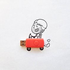 Funny Illustrations with Everyday Objects