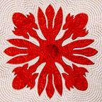 Hawaiian Quilt Pattern: Awapuhi (ginger)