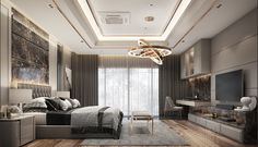 Bedroom Design Ideas – Create Your Own Private Sanctuary Modern Luxury Bedroom, Luxury Bedroom Design, Home Room Design, Master Bedroom Design, Luxurious Bedrooms, Bedroom False Ceiling Design, Master Bedroom Interior, Modern Master Bedroom, Home Decor Bedroom