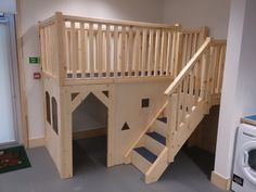 bespoke Classroom Loft with 2 windows. great for role play